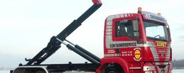 Camion European Container - Location de conteneur dans toute la province de Liège