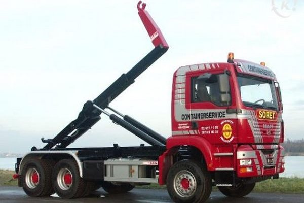 Camion European Container - Location de conteneur