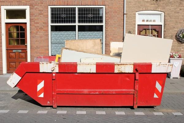 Container pour déchets, terre, bois, métaux, etc. - European Container