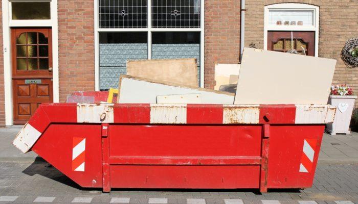 Location de container à Liège pour les bois, terre, déchets, etc.