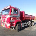 Camion European Container - Enlèvement de vieux métaux