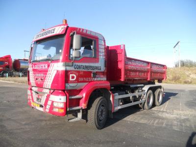Location de camion container European Container - Enlèvement de vieux métaux à Liège