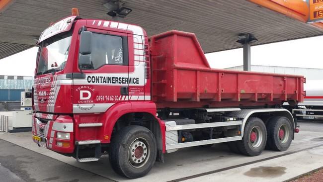 Location de container pour déchets et ordures - European Container