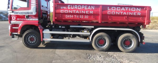 Location de container à Liège