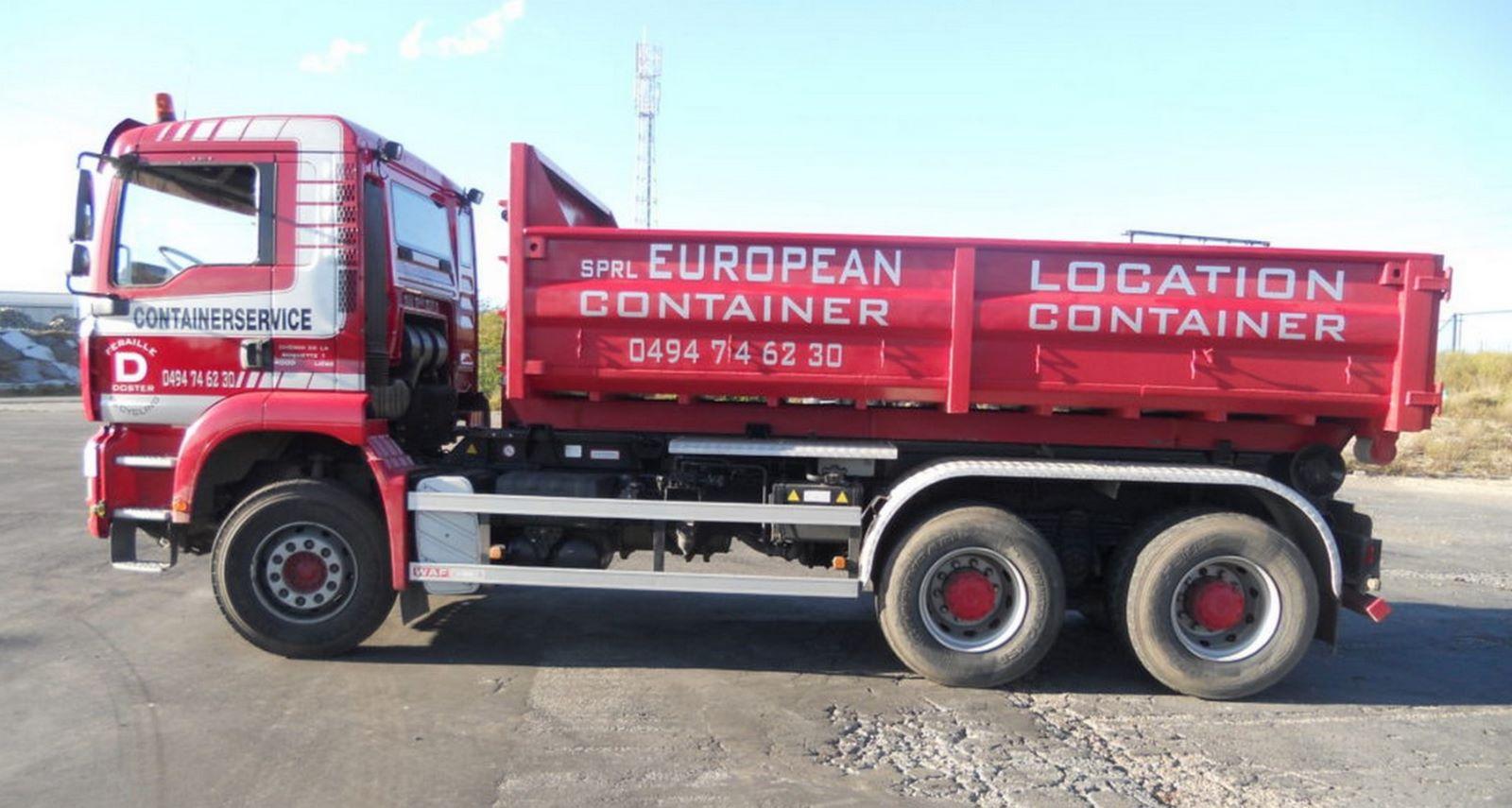 European Container - Location de container à Flémalle et environs