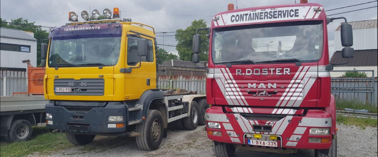 Flémalle & Liège - Location de container